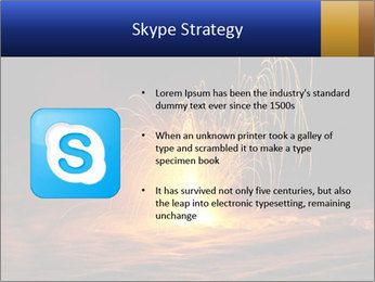 Fire Explosion PowerPoint Template - Slide 8