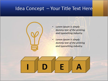 Fire Explosion PowerPoint Template - Slide 80