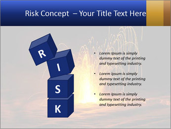Fire Explosion PowerPoint Template - Slide 81