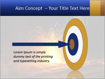 Fire Explosion PowerPoint Template - Slide 83