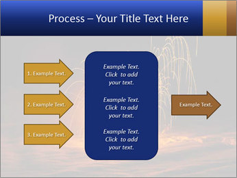 Fire Explosion PowerPoint Template - Slide 85