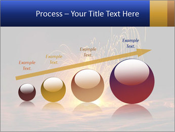 Fire Explosion PowerPoint Template - Slide 87