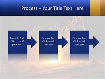 Fire Explosion PowerPoint Templates - Slide 88