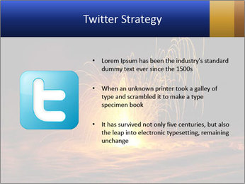 Fire Explosion PowerPoint Templates - Slide 9