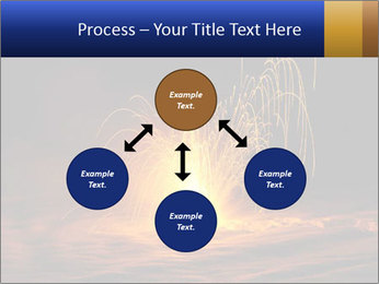 Fire Explosion PowerPoint Templates - Slide 91