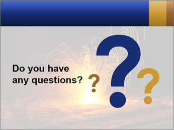 Fire Explosion PowerPoint Template - Slide 96