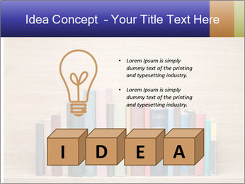 Set Of Books PowerPoint Template - Slide 80