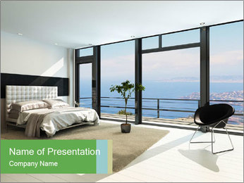 Modern Luxury Room PowerPoint Templates - Slide 1