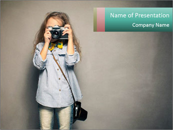 Fashion For Kids PowerPoint Template - Slide 1
