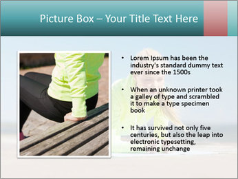 Woman Doing Plank PowerPoint Templates - Slide 13
