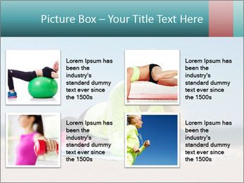 Woman Doing Plank PowerPoint Templates - Slide 14