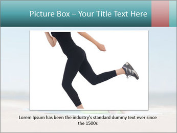 Woman Doing Plank PowerPoint Templates - Slide 15