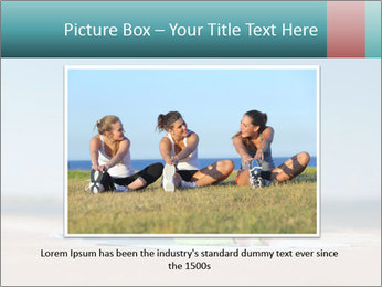 Woman Doing Plank PowerPoint Templates - Slide 16