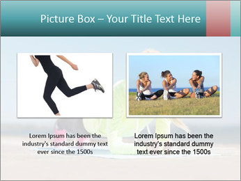 Woman Doing Plank PowerPoint Templates - Slide 18