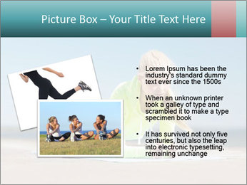 Woman Doing Plank PowerPoint Templates - Slide 20