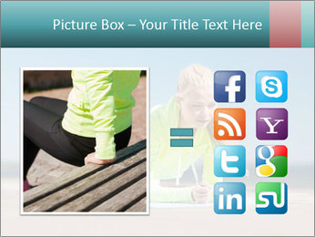 Woman Doing Plank PowerPoint Templates - Slide 21