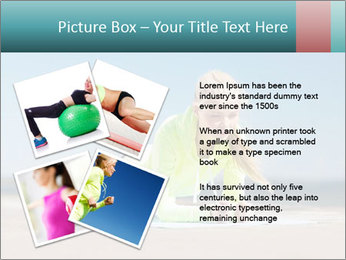 Woman Doing Plank PowerPoint Templates - Slide 23