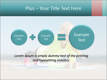 Woman Doing Plank PowerPoint Templates - Slide 75