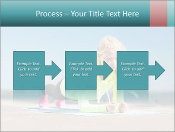 Woman Doing Plank PowerPoint Templates - Slide 88
