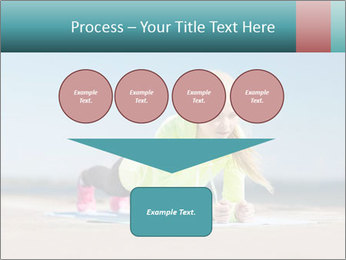 Woman Doing Plank PowerPoint Templates - Slide 93