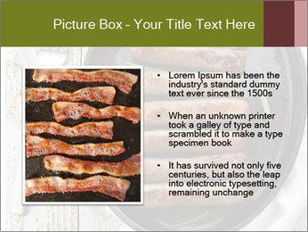 Breakfast Sausage PowerPoint Templates - Slide 13