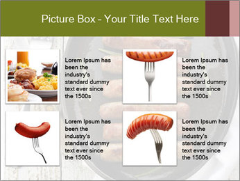 Breakfast Sausage PowerPoint Templates - Slide 14