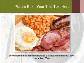 Breakfast Sausage PowerPoint Templates - Slide 15