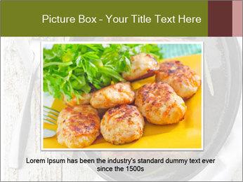 Breakfast Sausage PowerPoint Template - Slide 16