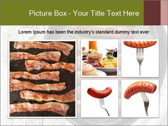 Breakfast Sausage PowerPoint Templates - Slide 19