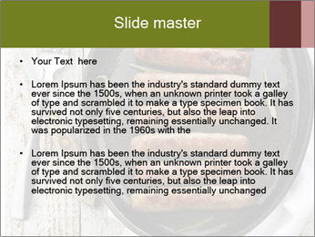 Breakfast Sausage PowerPoint Template - Slide 2