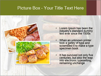 Breakfast Sausage PowerPoint Template - Slide 20