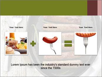 Breakfast Sausage PowerPoint Templates - Slide 22