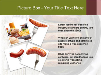 Breakfast Sausage PowerPoint Templates - Slide 23