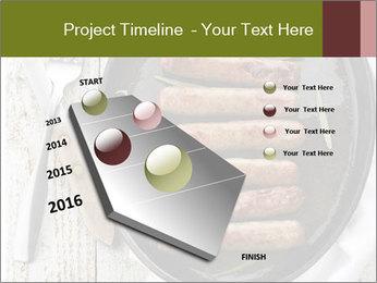 Breakfast Sausage PowerPoint Templates - Slide 26
