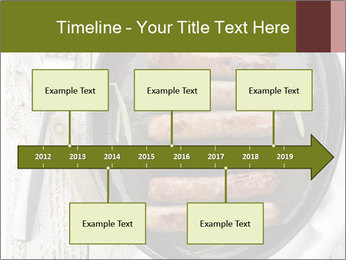 Breakfast Sausage PowerPoint Template - Slide 28