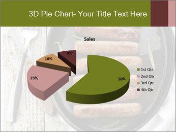 Breakfast Sausage PowerPoint Templates - Slide 35
