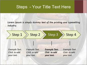 Breakfast Sausage PowerPoint Template - Slide 4
