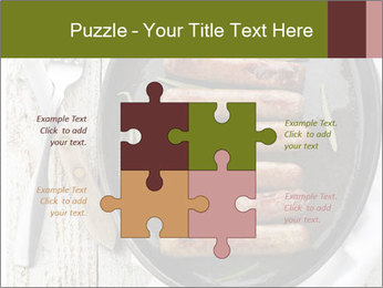 Breakfast Sausage PowerPoint Templates - Slide 43