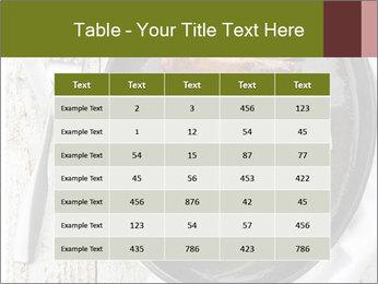 Breakfast Sausage PowerPoint Template - Slide 55