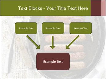 Breakfast Sausage PowerPoint Templates - Slide 70