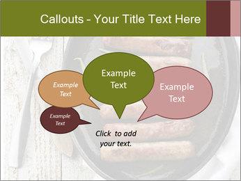 Breakfast Sausage PowerPoint Templates - Slide 73