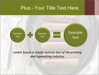 Breakfast Sausage PowerPoint Templates - Slide 75
