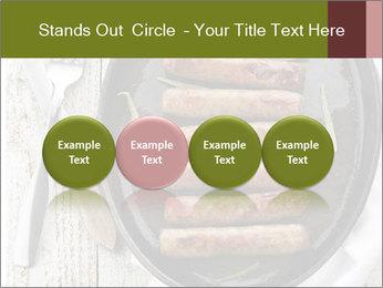 Breakfast Sausage PowerPoint Templates - Slide 76