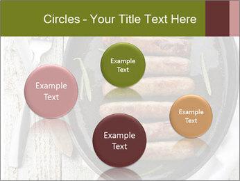 Breakfast Sausage PowerPoint Templates - Slide 77
