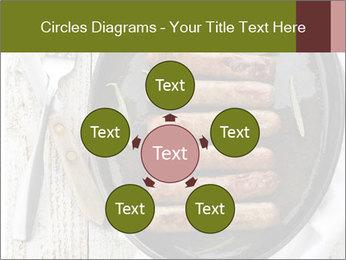 Breakfast Sausage PowerPoint Templates - Slide 78
