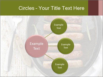 Breakfast Sausage PowerPoint Templates - Slide 79