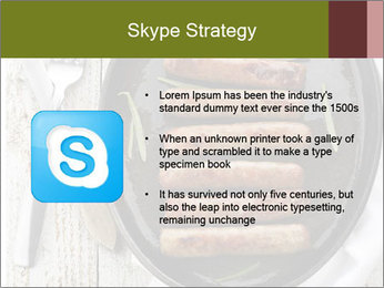 Breakfast Sausage PowerPoint Template - Slide 8