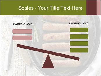 Breakfast Sausage PowerPoint Template - Slide 89
