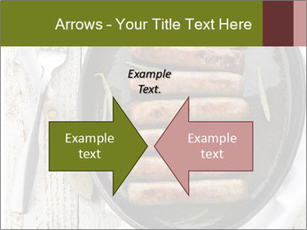 Breakfast Sausage PowerPoint Template - Slide 90