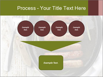 Breakfast Sausage PowerPoint Templates - Slide 93